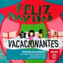 Díptico Navidad</br>Información de actividades </br>programa VACACIONANTES